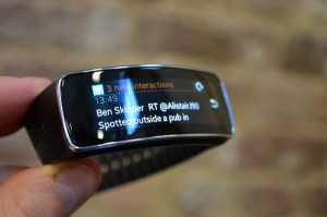 notification samsung gear